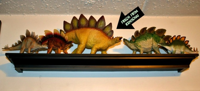 "alt=""Stegosaurus Toy Collection"""