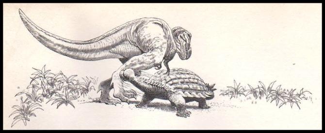 t-rex-ankylosaurus