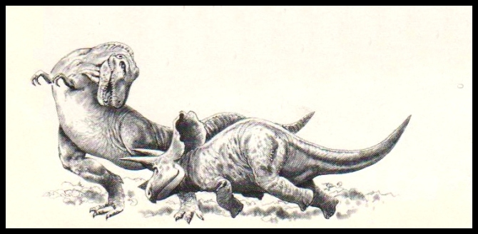 t-rex-triceratops