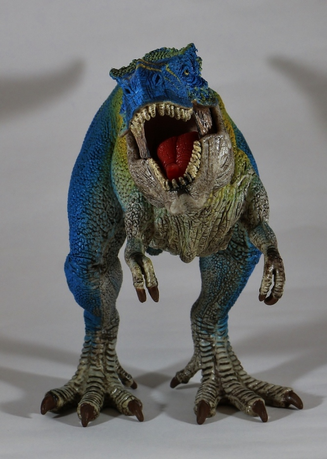 "alt=""Schleich Exclusive Blue T-Rex"""