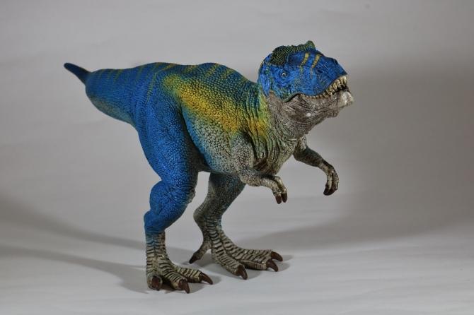 """alt=""""Schleich Volcano Playset Blue T-Rex"""""""