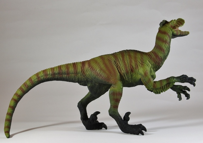 "alt=""Wild Safari Great Dinos XL Velociraptor 3"""