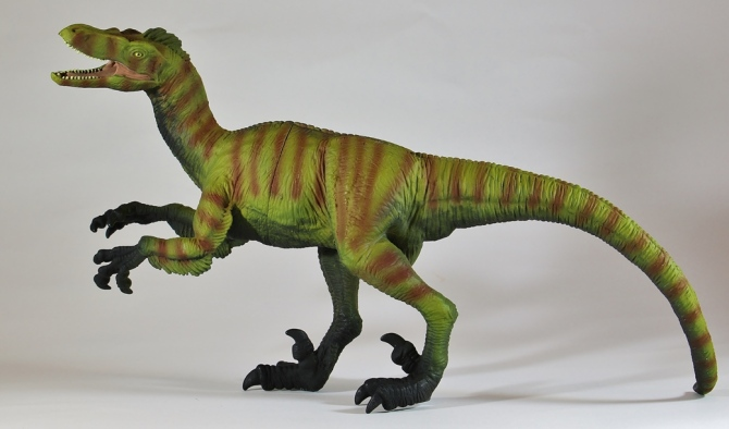 "alt=""Wild Safari Great Dinos XL Velociraptor 1"""