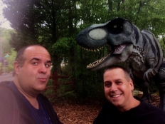 1 Dave Fuentes & David Albaugh with T-Rex