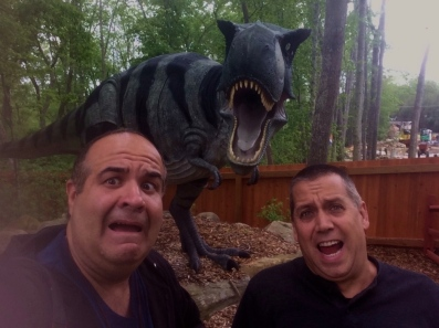 6 Dave Fuentes & David Albaugh with T-Rex 2