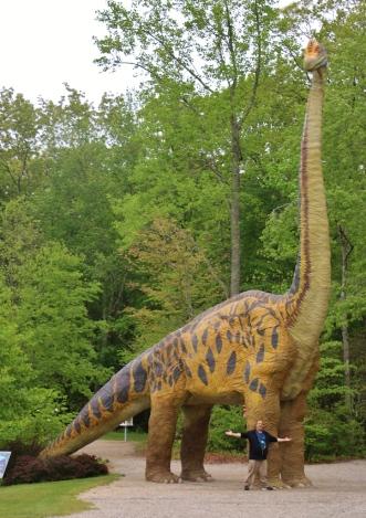 Brachiosaurus with Dave Fuentes