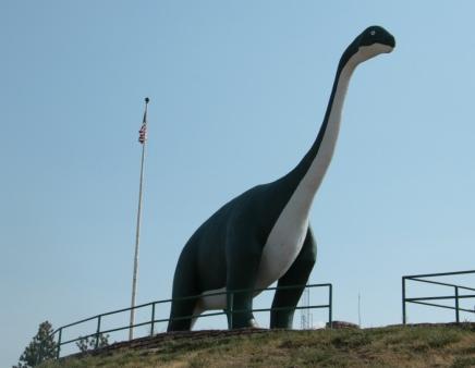 Dinosaur Park Apatosaurus 1