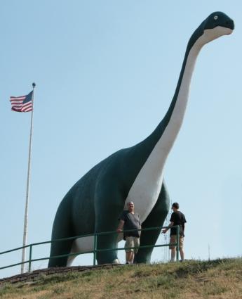 Dinosaur Park Apatosaurus 2