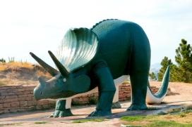 Dinosaur Park Triceratops 1