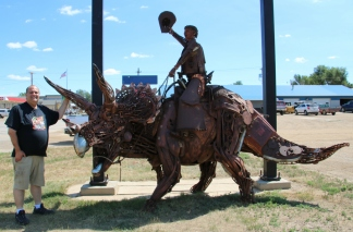 Steampunk Triceratops