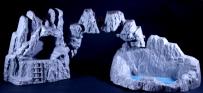 Marx Playset Mountains 1