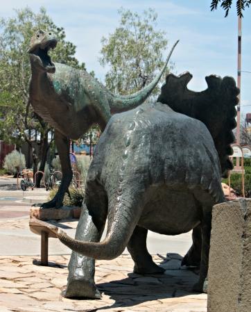 Dinosaurs New Mexico 1