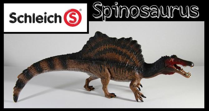 schleich Spinosaurus Banner